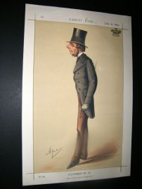 Vanity Fair Print 1870 Marquis of Westminster